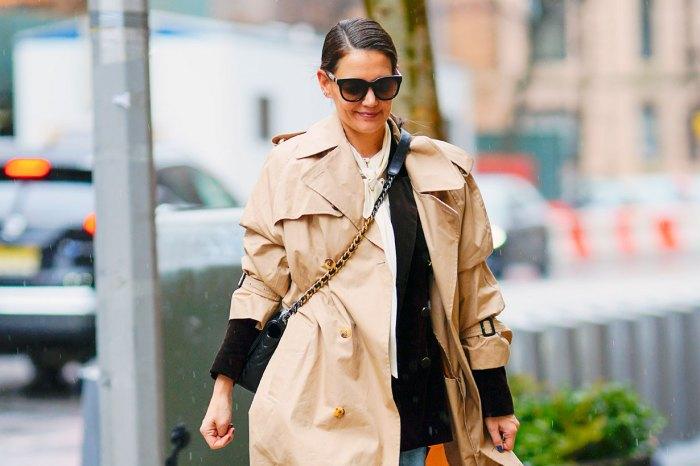 怎樣將 Chanel 手袋背得瀟灑隨性?Katie Holmes 用一身穿搭給了答案!