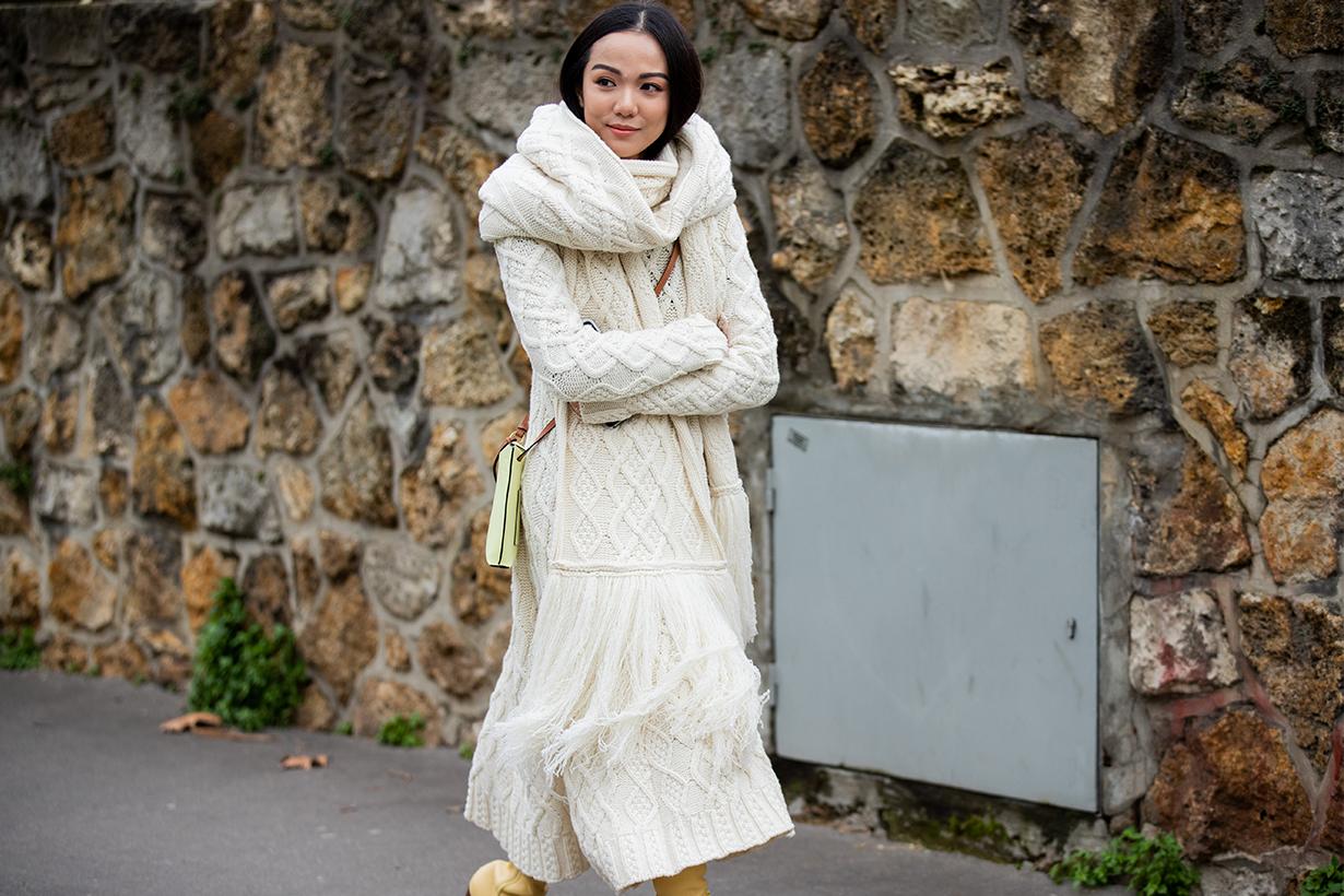 Knit Maxi Dress Trend Spring 2020