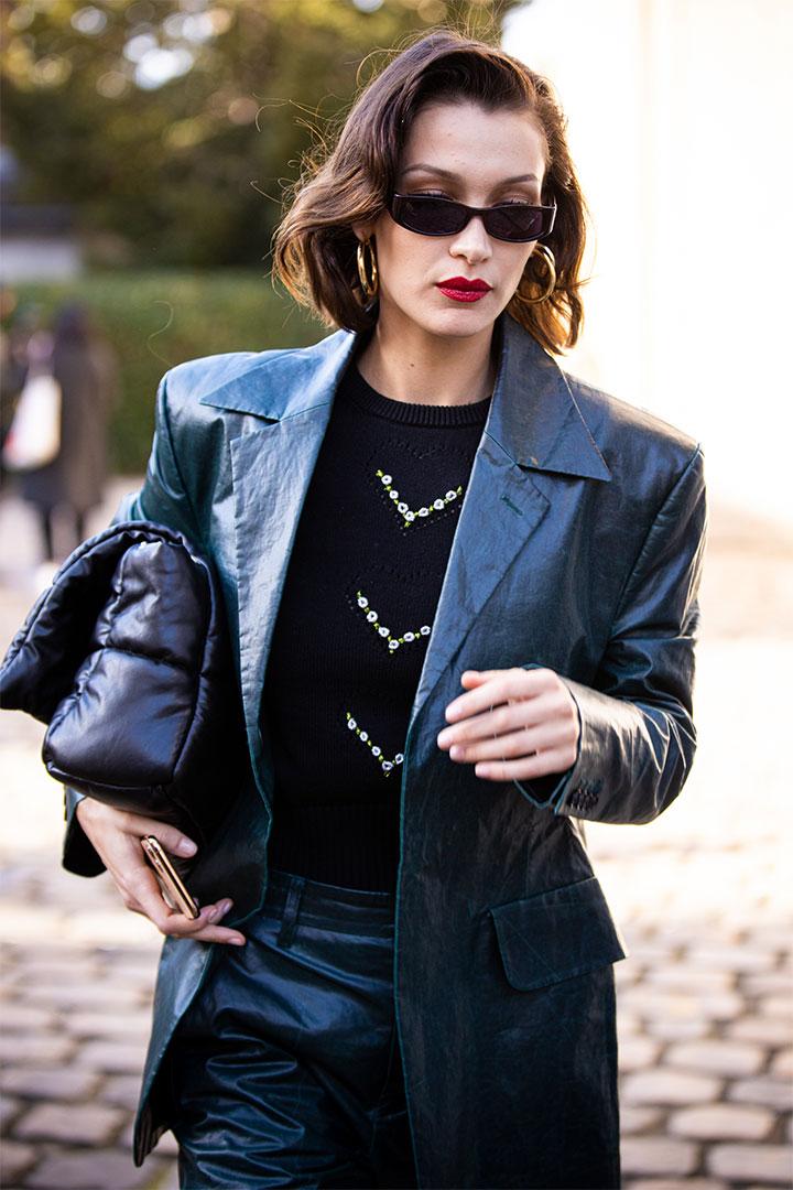 Leather Blazer Trend 2020