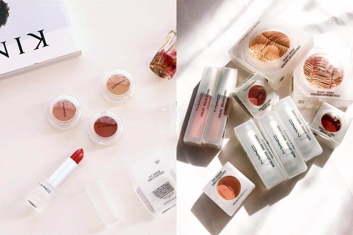 M.A.C Cosmetics Loud and Clear Limited Edition Spring 2020 Lipsticks Lipglass Blush Eyeshadow Cosmetics Makeup Korean Girls