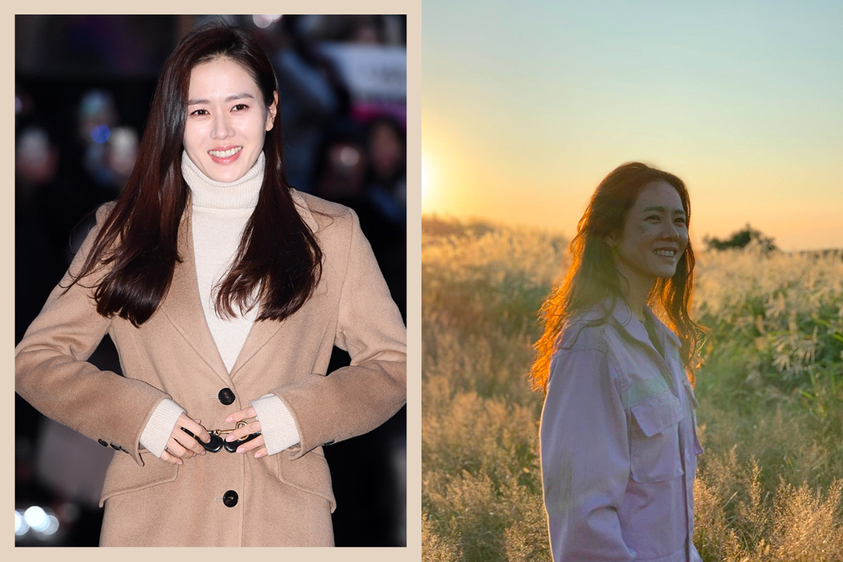 son ye jin maje camel coat outfit where buy