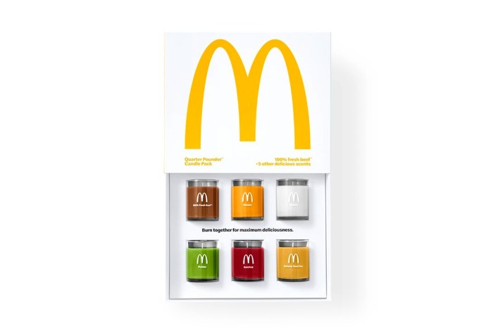 究竟漢堡芝士會是什麼味道?McDonald's 這次竟然推出香氛蠟燭組合!