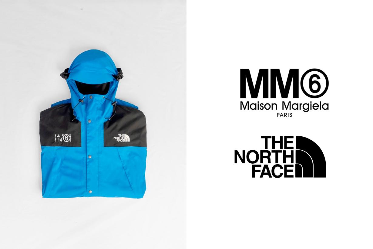 north face mm6 maison margiela collabration london fashion week