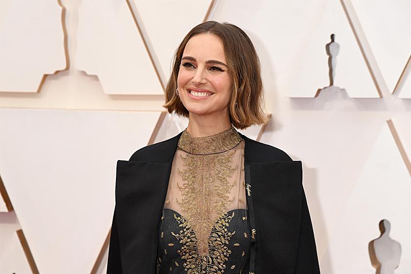 Natalie Portman oscars outfit protest Rose McGowan critique