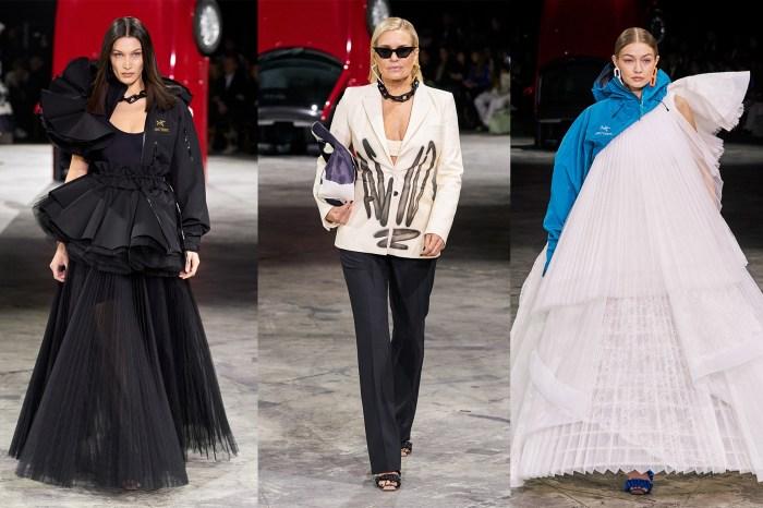 #PFW:兩代 Hadid 家族的超模同台走騷,Off-White 告訴你它不只是個青年品牌