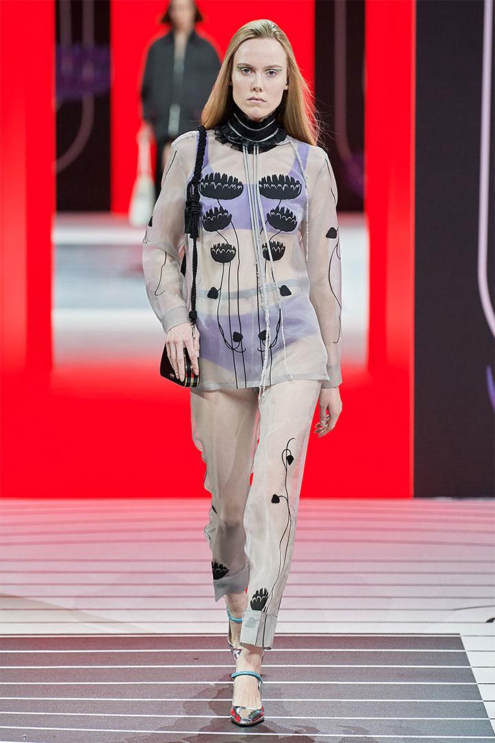 MFW Prada 2020 Fall Winter Fashion Show