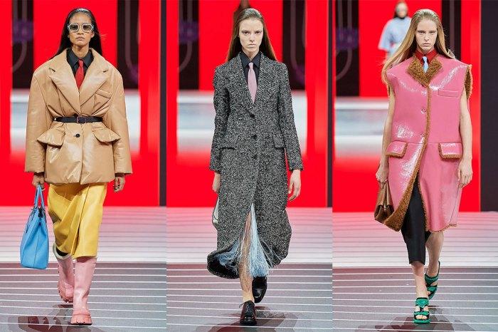 #MFW:廓形西裝、流蘇裙……Prada 示範如何襯出具力量的女性美!
