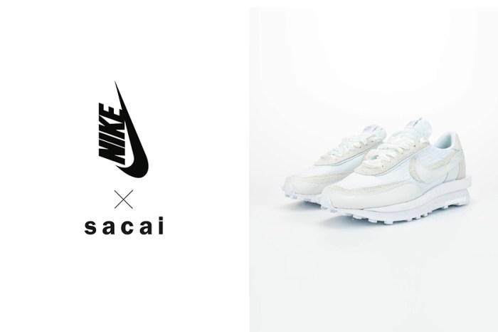發售日期確定:Nike x sacai 重磅聯乘波鞋,簡約黑白色調百搭又時髦!