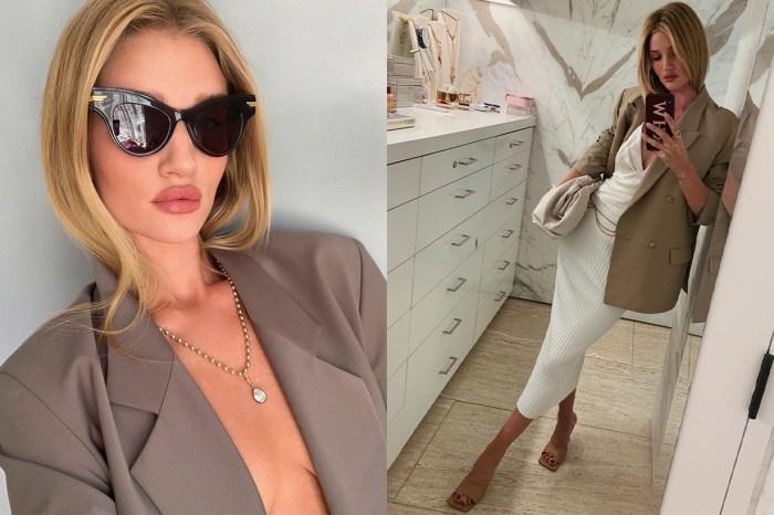 隨處可見的西裝外套自此變得與別不同!從 Rosie HW 造型學會這 4 個奢華亮眼的配搭技巧