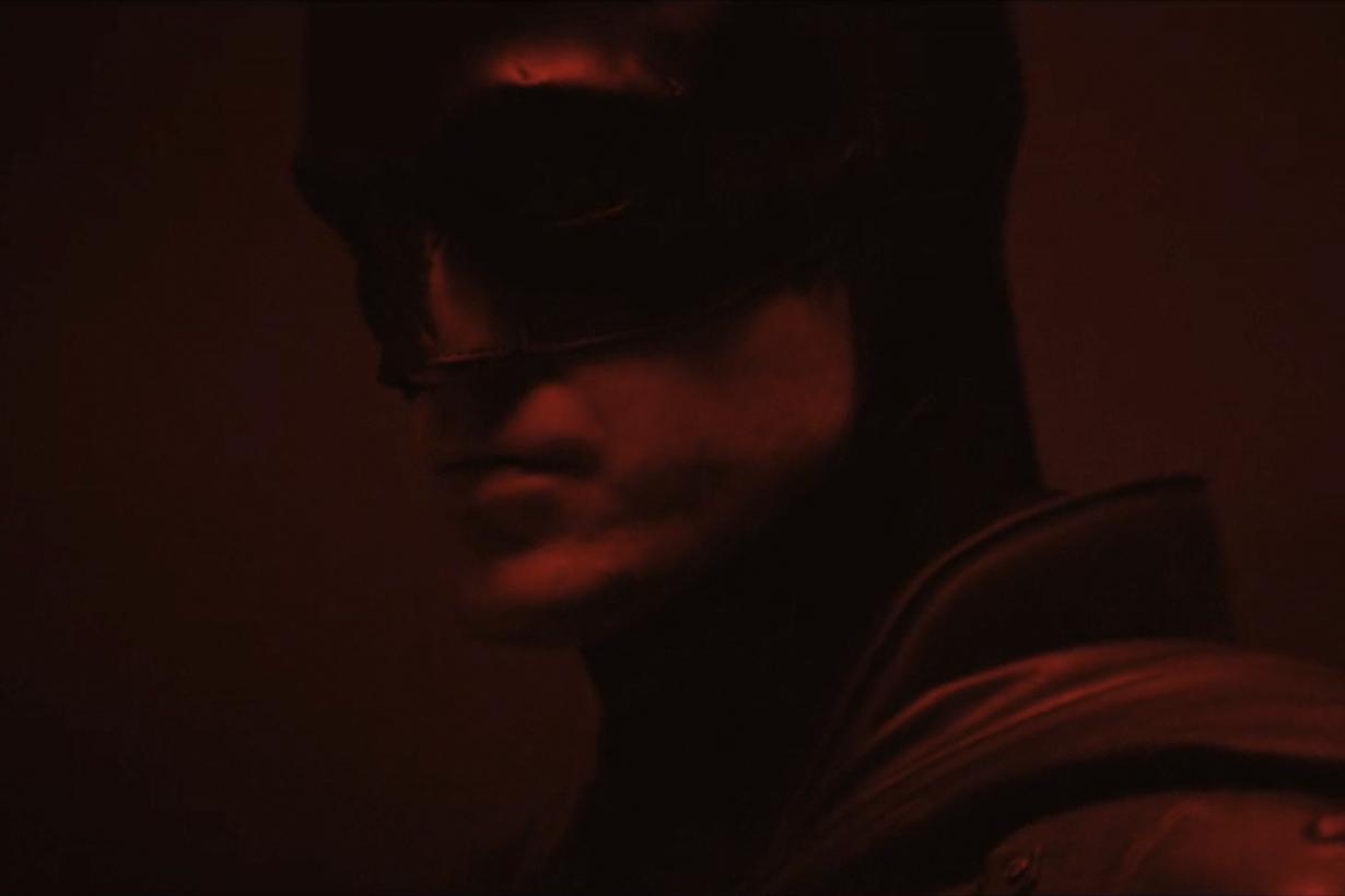 robert pattinson batman camera test reveal suit first