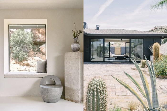 Airbnb 正在出租:這間雜揉侘寂與極簡的絕美 Villa,一望出去盡是仙人掌!