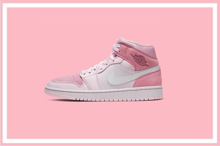 淡淡的初戀粉色系,Air Jordan 1 最新配色讓個性女孩也無法招架!