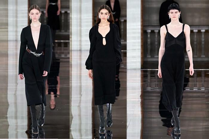 #LFW:極簡幹練的黑色調,Victoria Beckham 敘說存在女人內心的率性不羈!