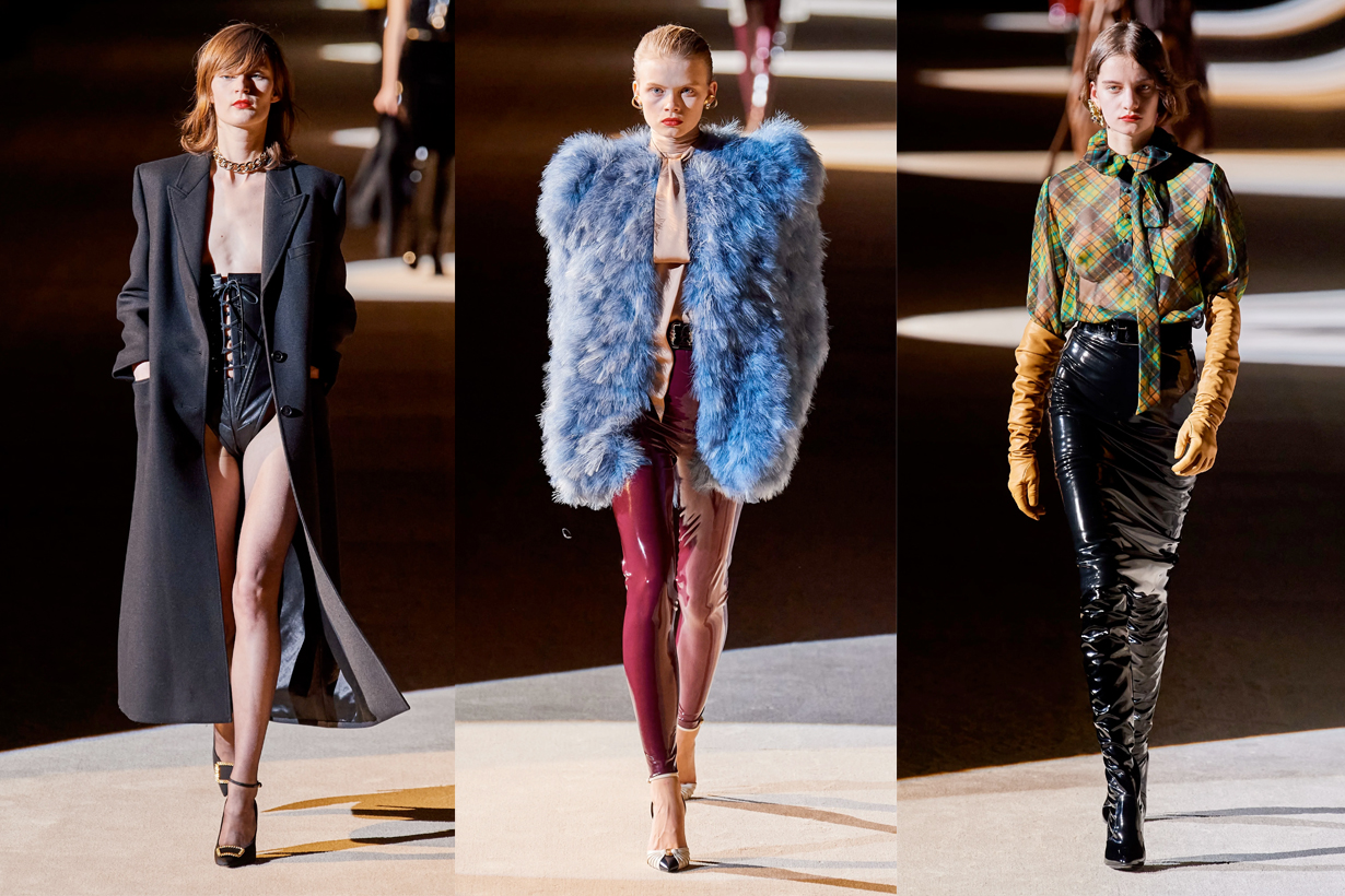 saint laurent Anthony Vaccarello pfw 2020fw paris