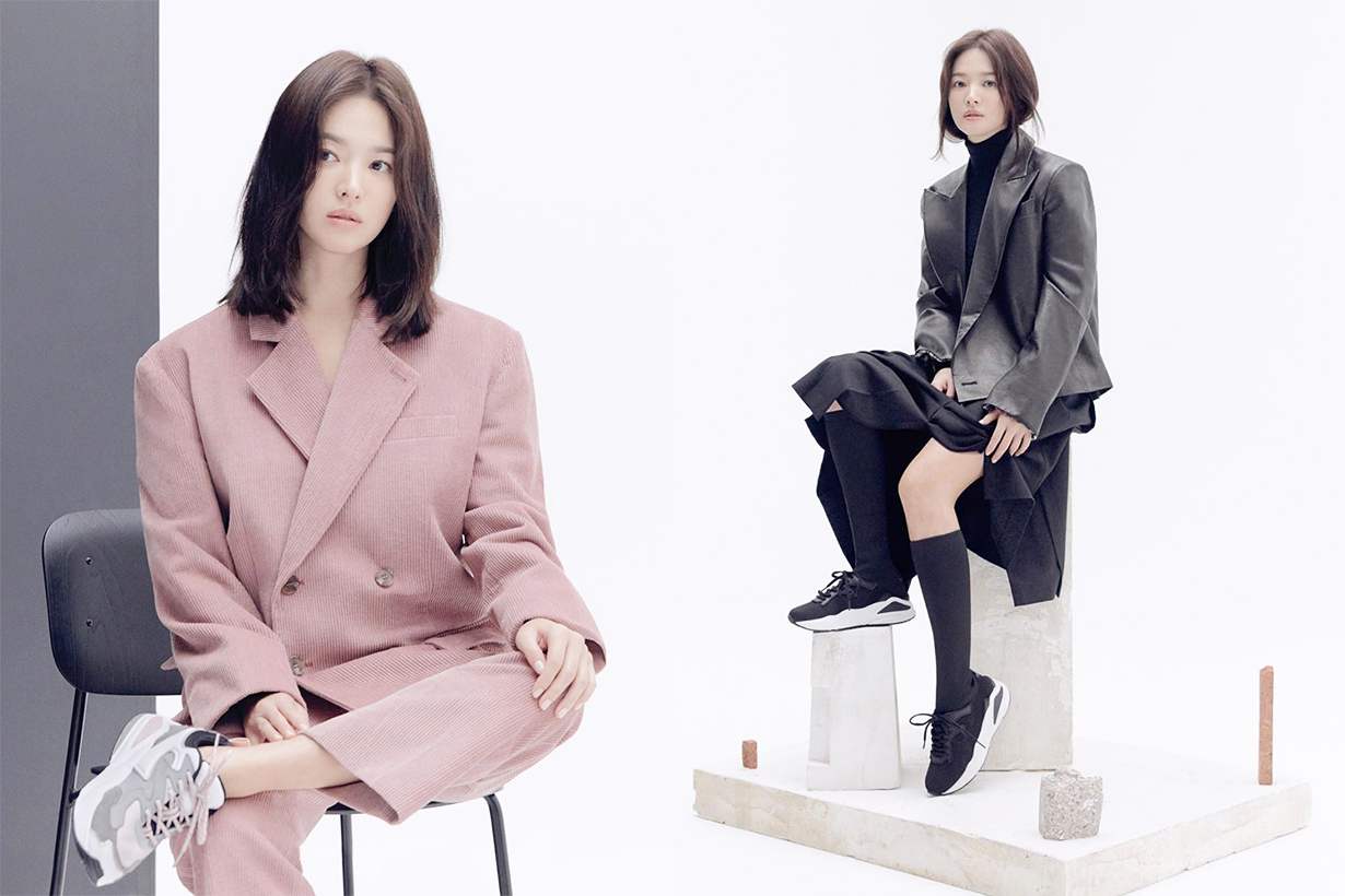 Song Hye Kyo Suecomma Bonnie Advertorial Shooting Curly Hair Celebrities Hairstyles Korean Idols celebrities actresses