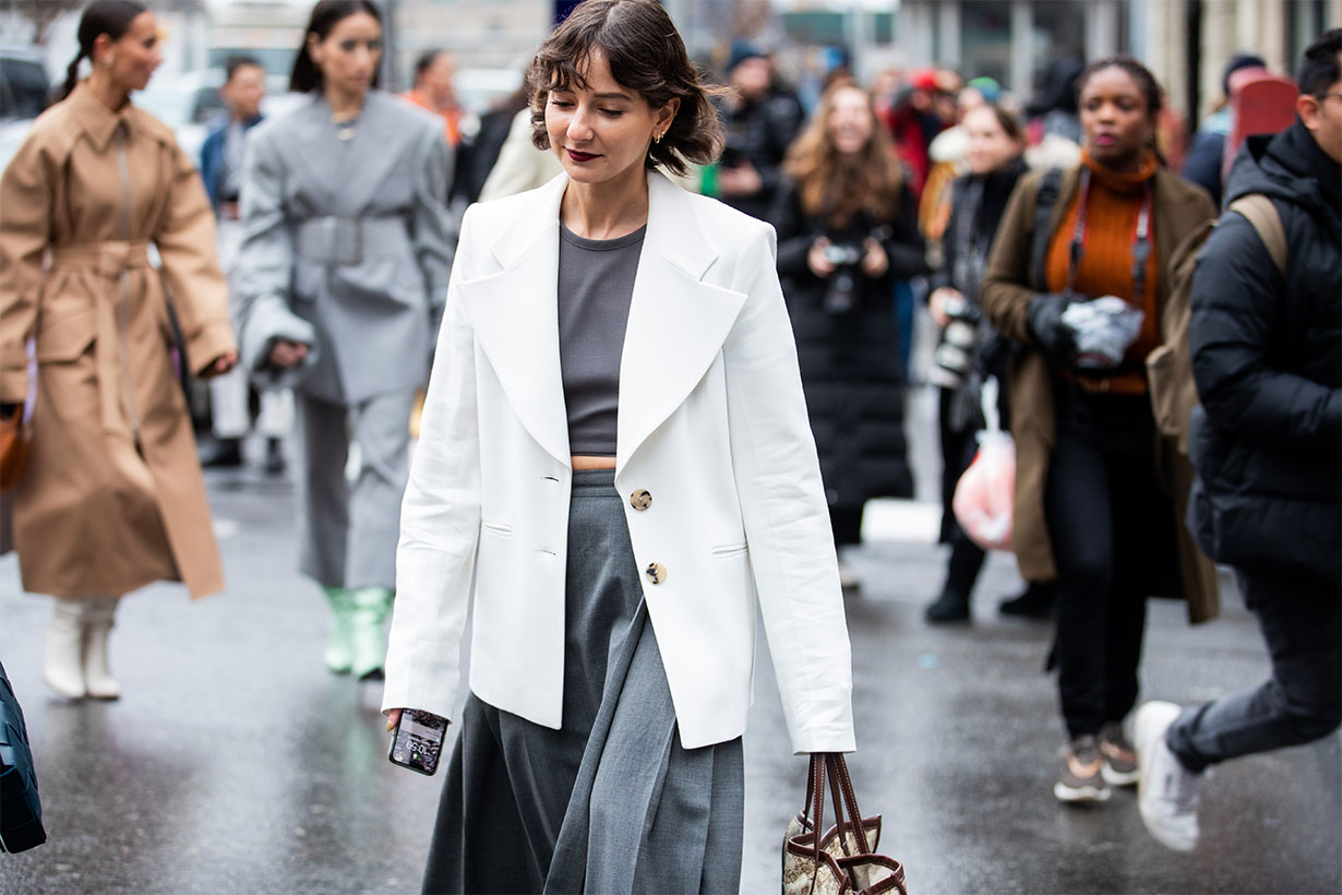 Color Trends from 2020 NYFW street style