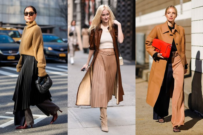 #NYFW:看過最新的紐約街拍,必要記低高級得體的駝色穿搭術!