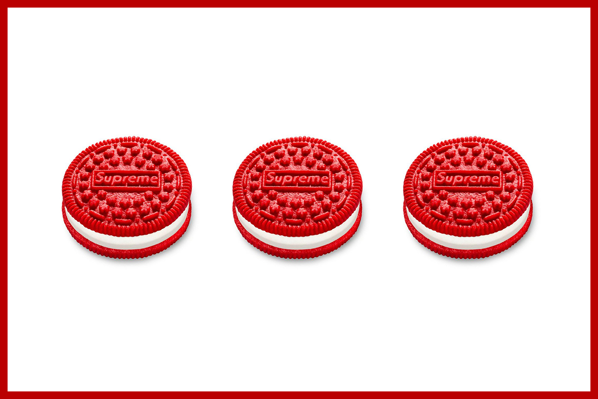 supreme oreos pack reselling  over 21k usd