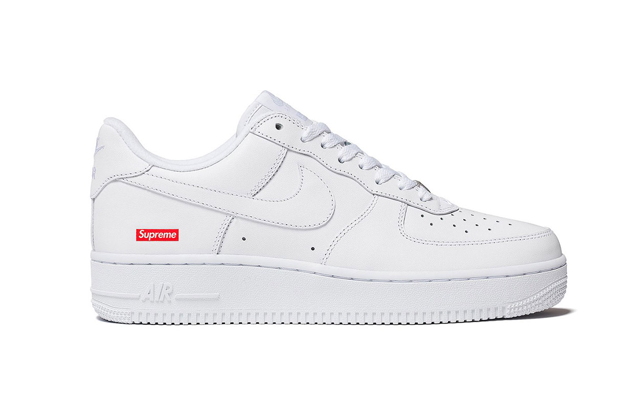 TAKE A FIRST LOOK AT THE SUPREME X NIKE AIR FORCE 1 LOW