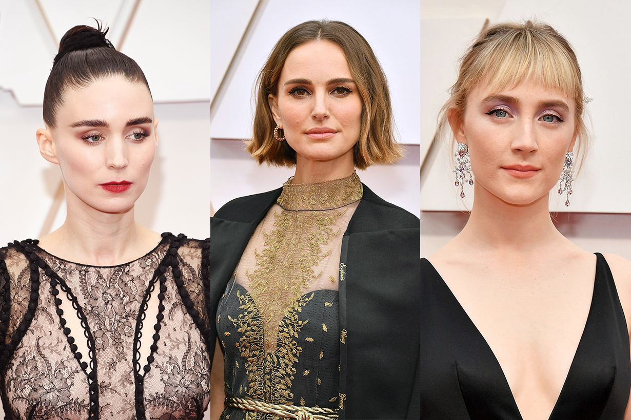 The Oscars 2020 92nd Academy Awards Celebrities Best Makeup Hairstyles Makeup Trends 2020
