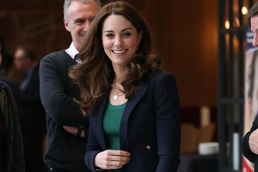 Kate Middleton Zara Mango Marks and Spencer outfit London Sports Aid