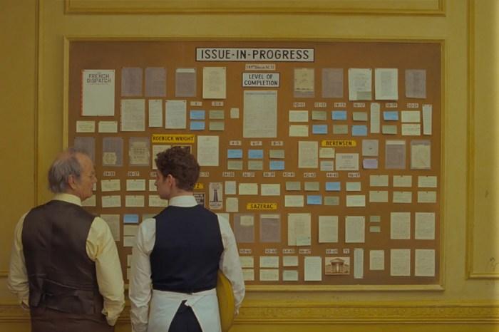 隨便定格一幕都美得讓人摒住呼吸!Wes Anderson 帶著新電影《The French Dispatch》回歸!