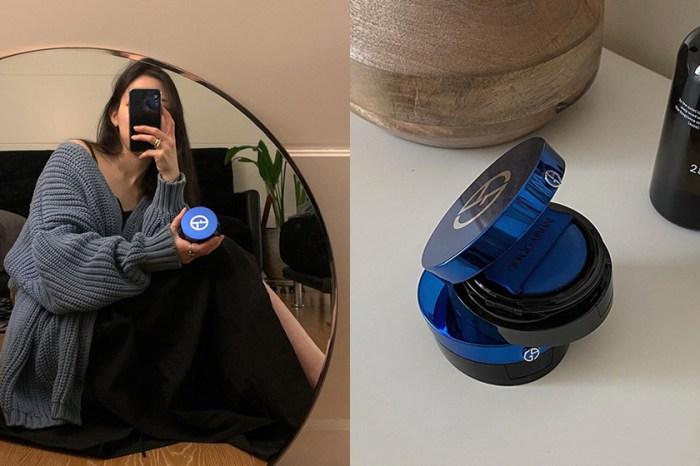 備受討論的藍色小盒:Giorgio Armani 新推出的「氣墊粉霜」有什麼厲害之處?
