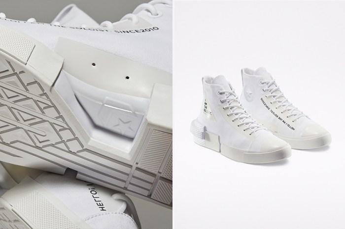 簡約中的不平凡:Converse 聯手 TheSoloist. 推出黑白解構設計鞋款!