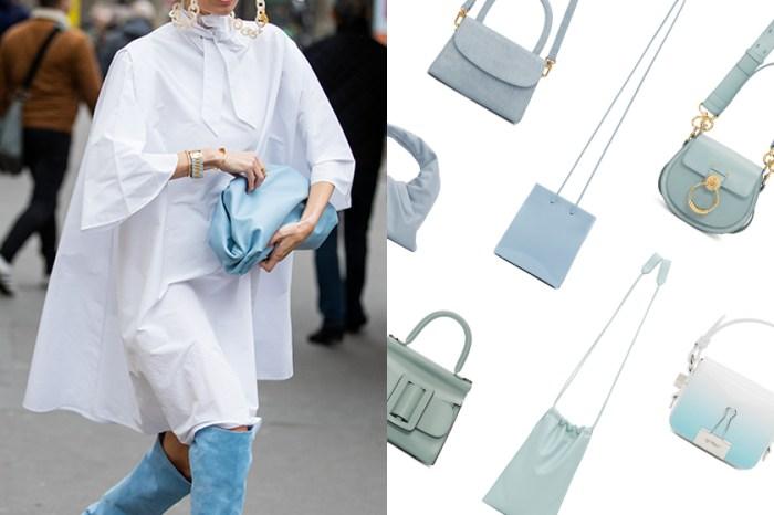 跳脫一成不變:這 15+ 款極美的淡藍色手袋,絕對適合你的春日穿搭!
