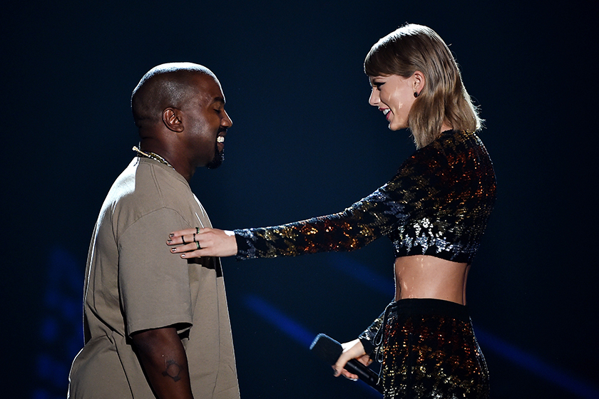 Taylor Swift Kanye West Famous