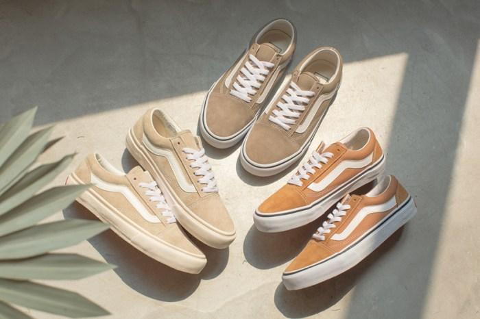風靡日本女生間的奶茶色球鞋:一次補貨三雙的 Vans Old Skool 不能錯過!