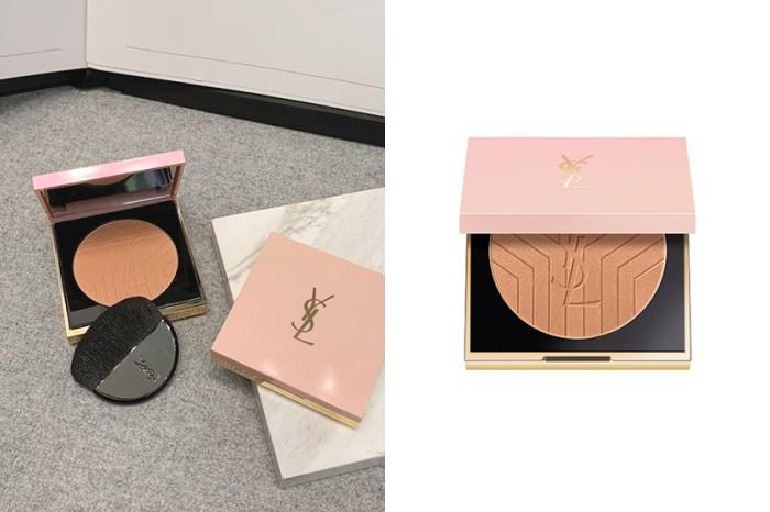 宛如陽光灑落肌膚的光澤:YSL Beauty 推出一款夢幻粉色亮顏盤!