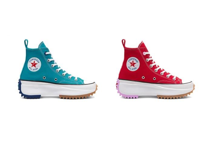 這次不能再錯過:平價版 Converse x JW Anderson 厚底波鞋推出糖果新色!