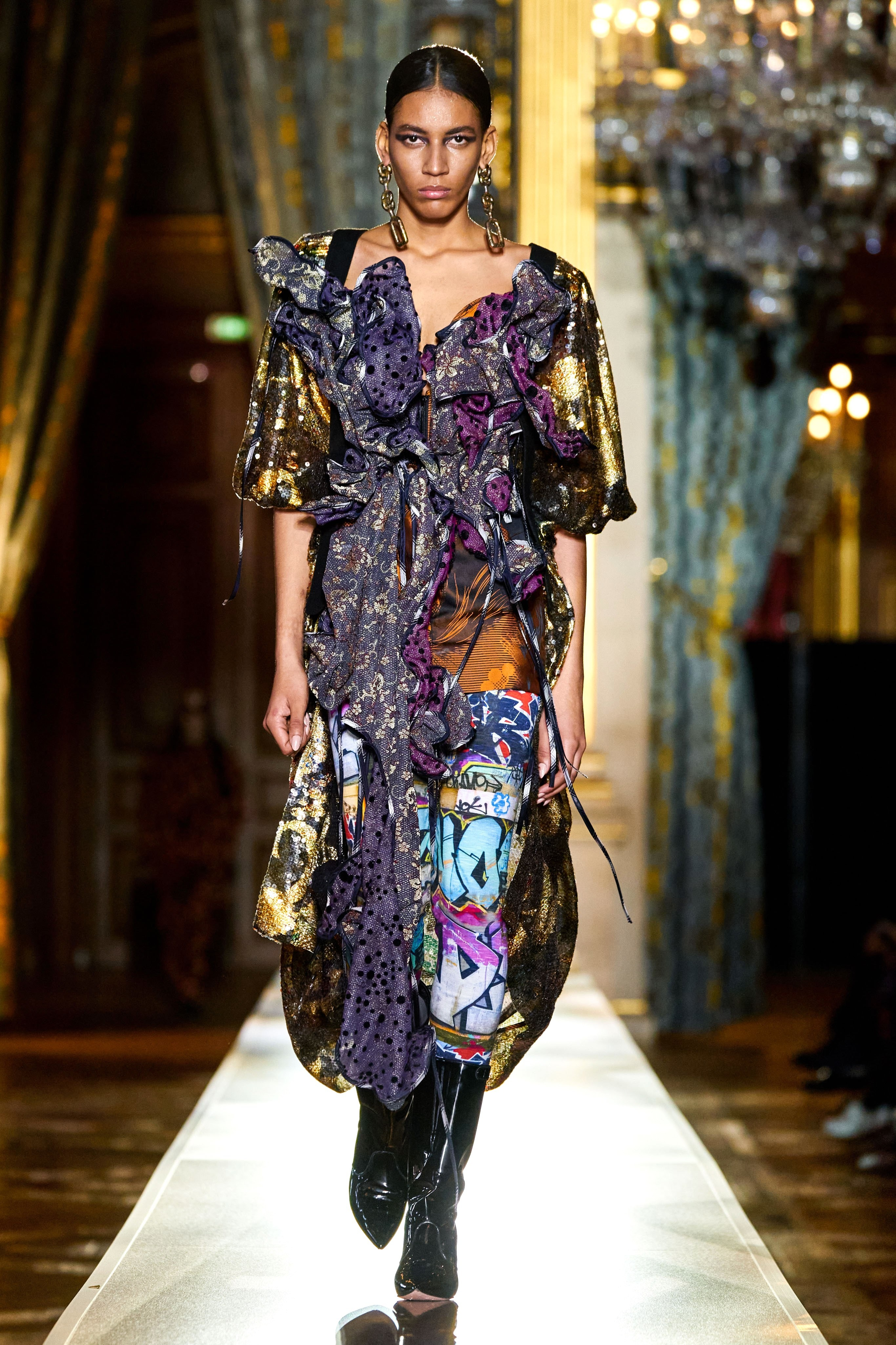 Paris fashion week fall 2020 ready to wear Andreas kronthaler for vivienne westwood