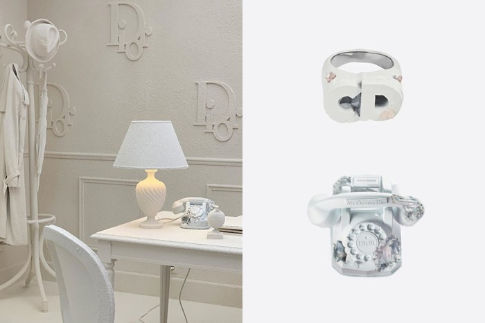 仿舊的老式電話、時鐘、籃球……,Christian Dior 還有推出迷你配件款式!