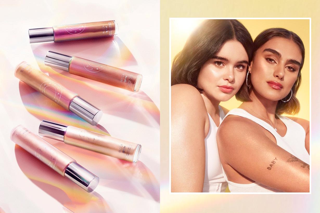 Becca cosmetics Ignite Liquified Light Highlighter Jill Kortleve