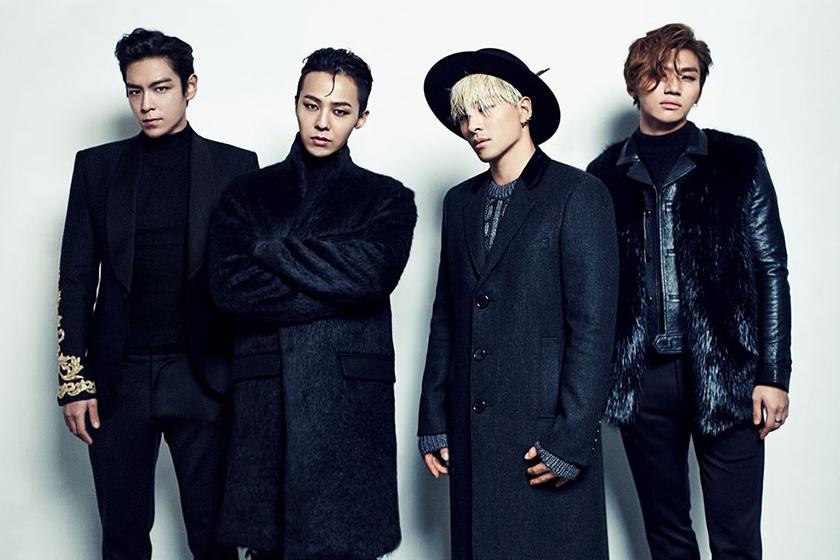 bigbang g dragon top taeyang daesung yg entertainment contract renewal kpop