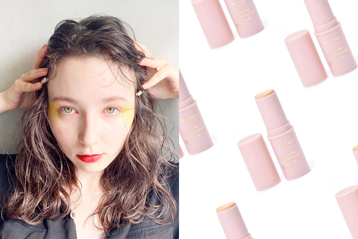 canmake cream foundation stick japanese makeup product popular youtuber