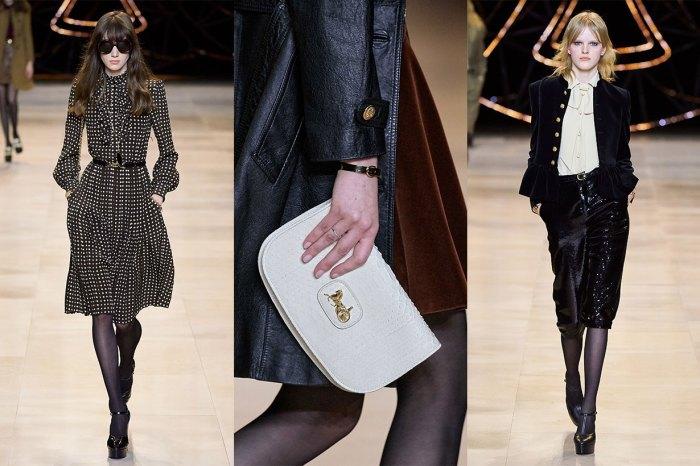 #PFW:一片 70 年代閃爍氛圍中,近賞 Celine 秋冬季的奢華手袋