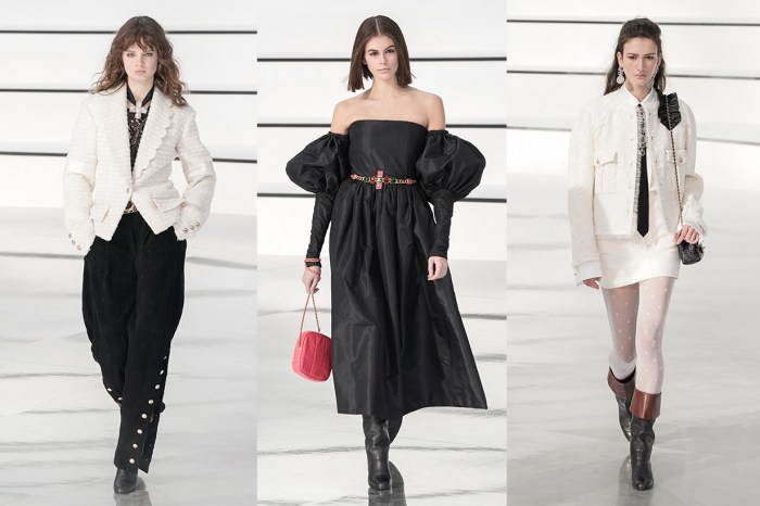 #PFW:裊裊白煙繚繞了整個 Grand Palais,Chanel 以黑白輝映出最經典的優雅