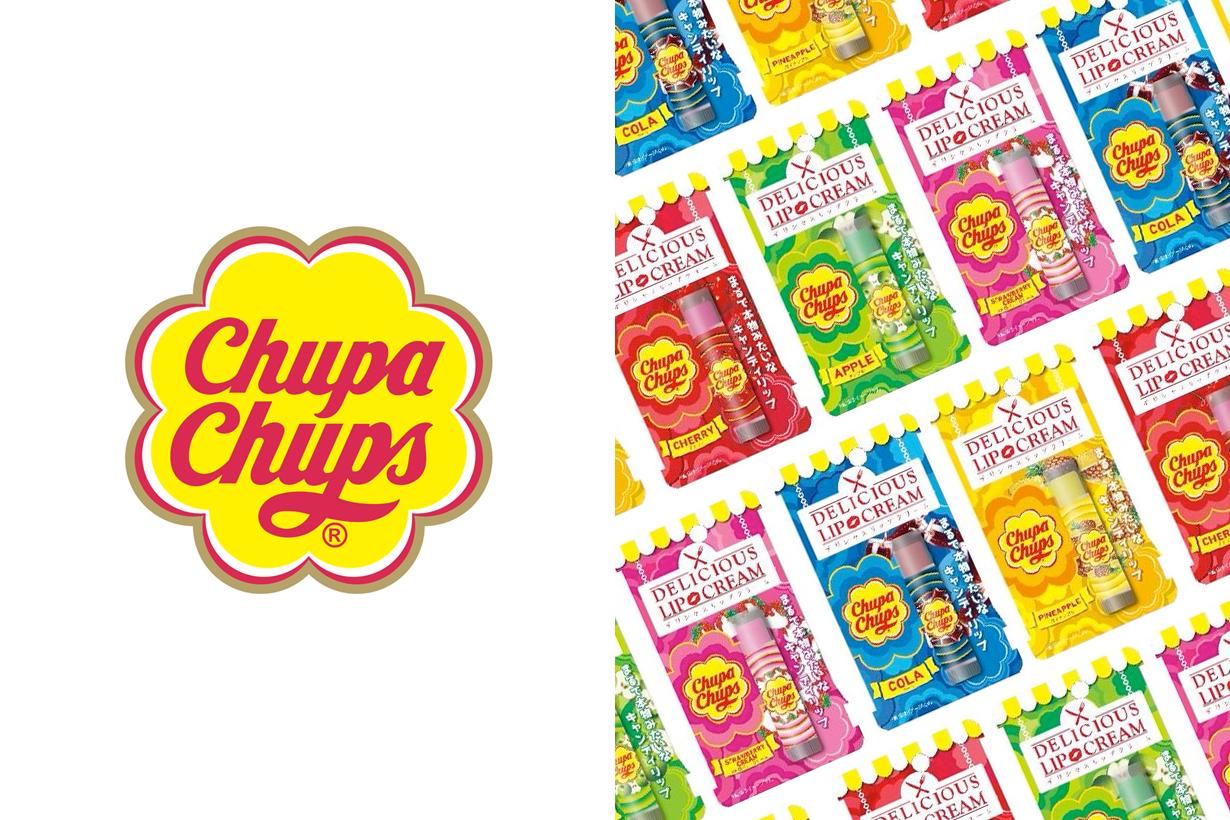 chupa chups delicious lipcream japan lollipop