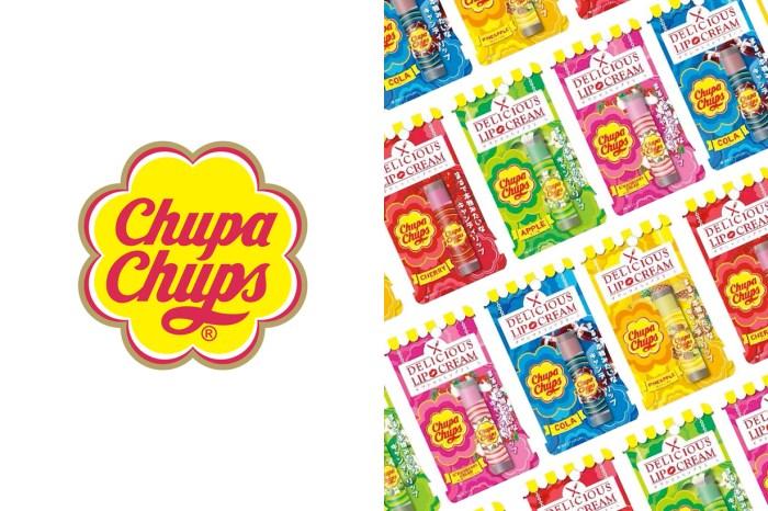 最好吃的保養品?童年回憶 Chupa Chups 推出會讓你忍不住一直擦的護唇膏!