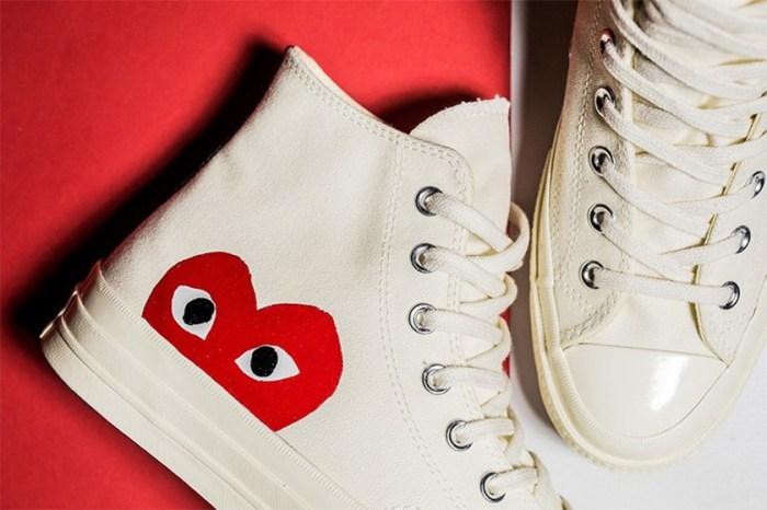 夏日色彩滿滿:COMME des GARÇONS PLAY 這款 Converse 高筒布鞋新配色來了!