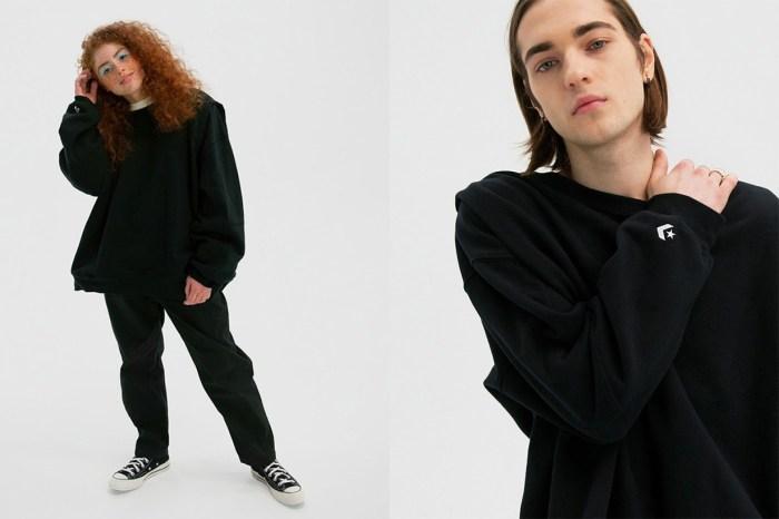 正如帆布鞋一樣男女皆宜,Converse 首推「無性別」服裝系列!