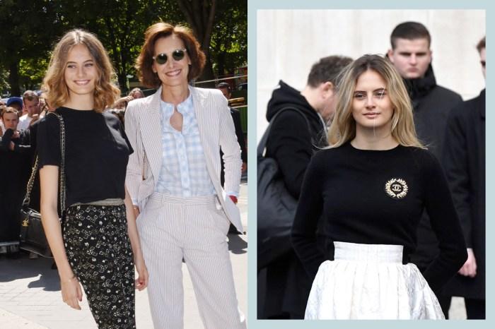 繼承媽媽的超模基因:這位星二代現身 Chanel 秀場,沒有過多的胭脂仍氣質脫俗!