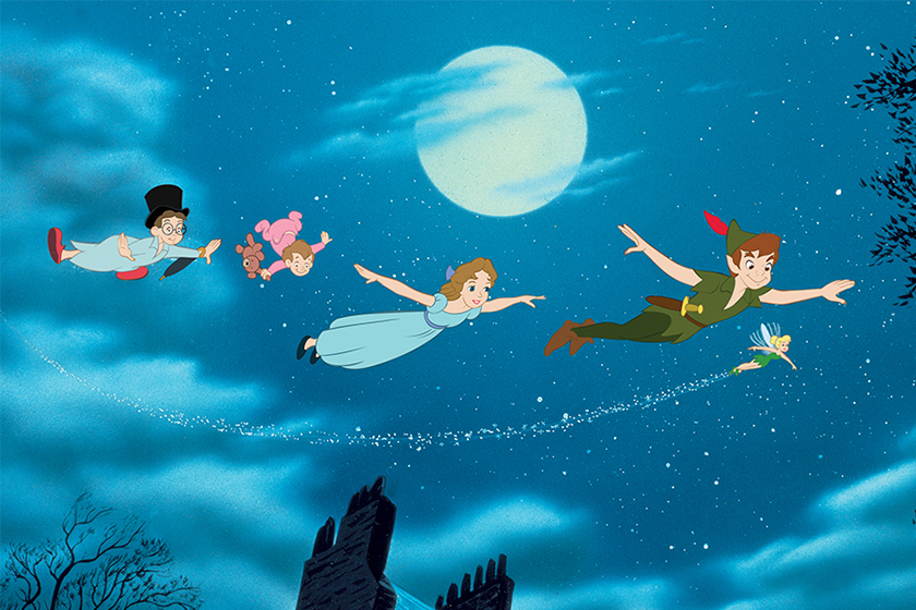 Disney Live Action Peter Pan cast Wendy and Peter Alexander Molony Ever Anderson