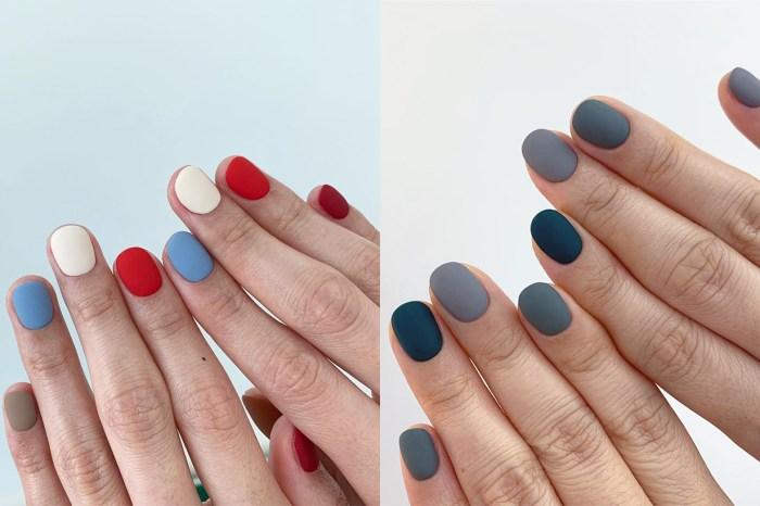 不需花巧圖案!學會了顏色配搭就能 DIY 的素色美甲提案!