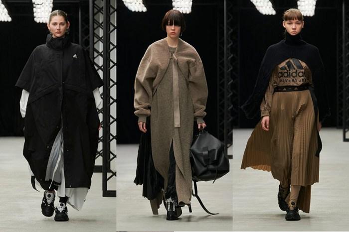 優雅低飽和色調:HYKE最新秋冬系列再次攜手 adidas,極簡中瞥見現代摩登!