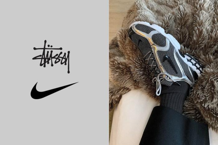 Nike x Stüssy 聯乘波鞋曝光,低調簡約黑灰色調藏著高質感細節!
