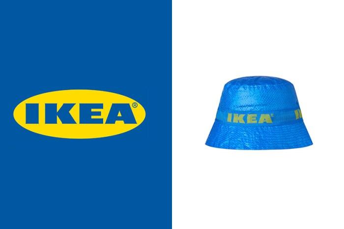 繼限量款一頂難求後,Ikea 經典藍黃漁夫帽終於正式在官網上架了!